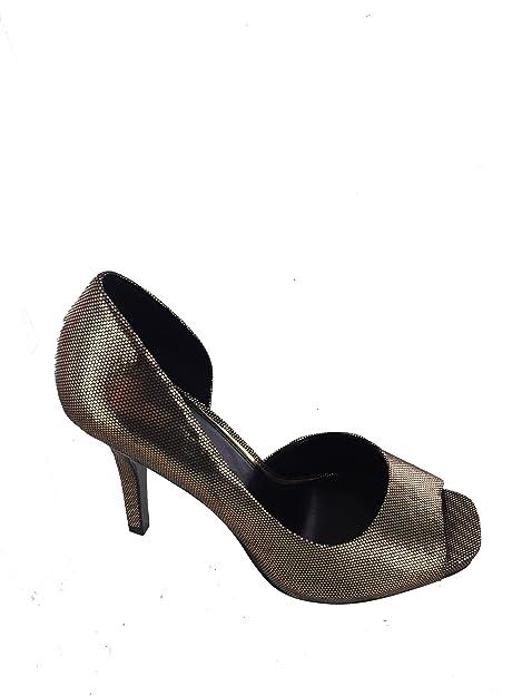 13665329e81e5 Amazon.com | Jessica Simpson Josette Pump Tarnish Gold, 8 | Pumps