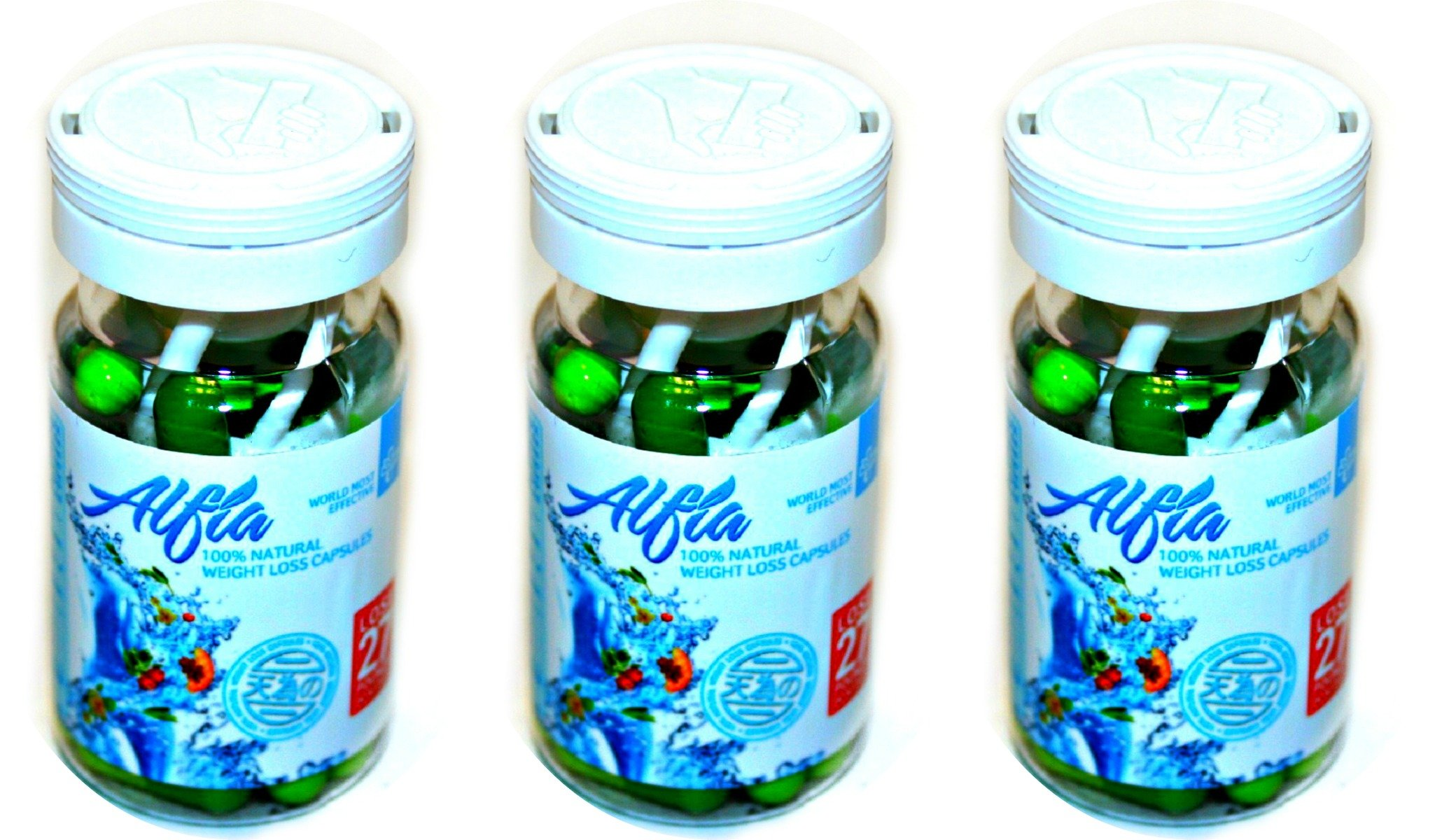 Alfia 100% Natural Weight Loss Capsules