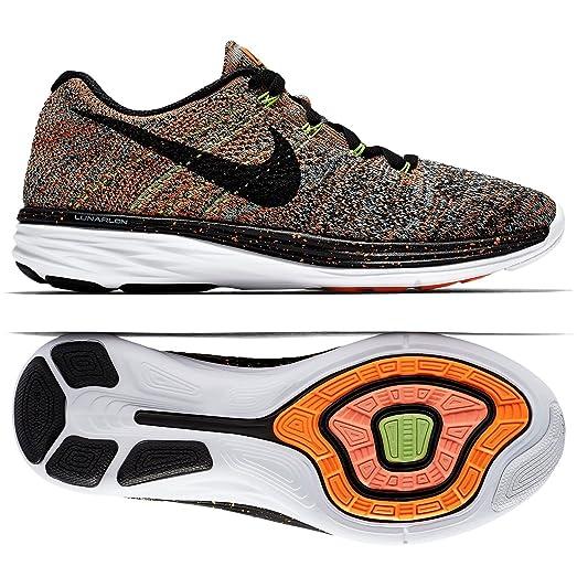 Nike Flyknit Lunar3 Citrus/Glacier Ice/Ghost Green/Black 698182-800 Women's