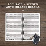 Portage Auto Mileage Log and Expense Notebook