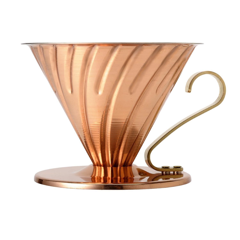 Hario V60 02 Copper Plated Ceramic Coffee Dripper VDP-02CP