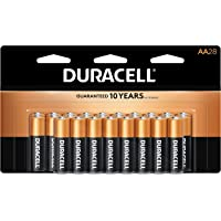 $22 » Duracell - CopperTop AA Alkaline Batteries - Long Lasting, All-Purpose Double A Battery for Household and Business - 28 Count