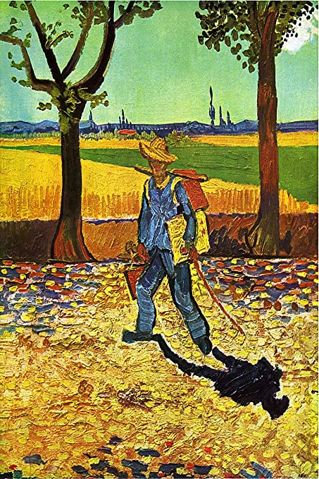 Vincent van Gogh Art Poster On the Road To Tarascon