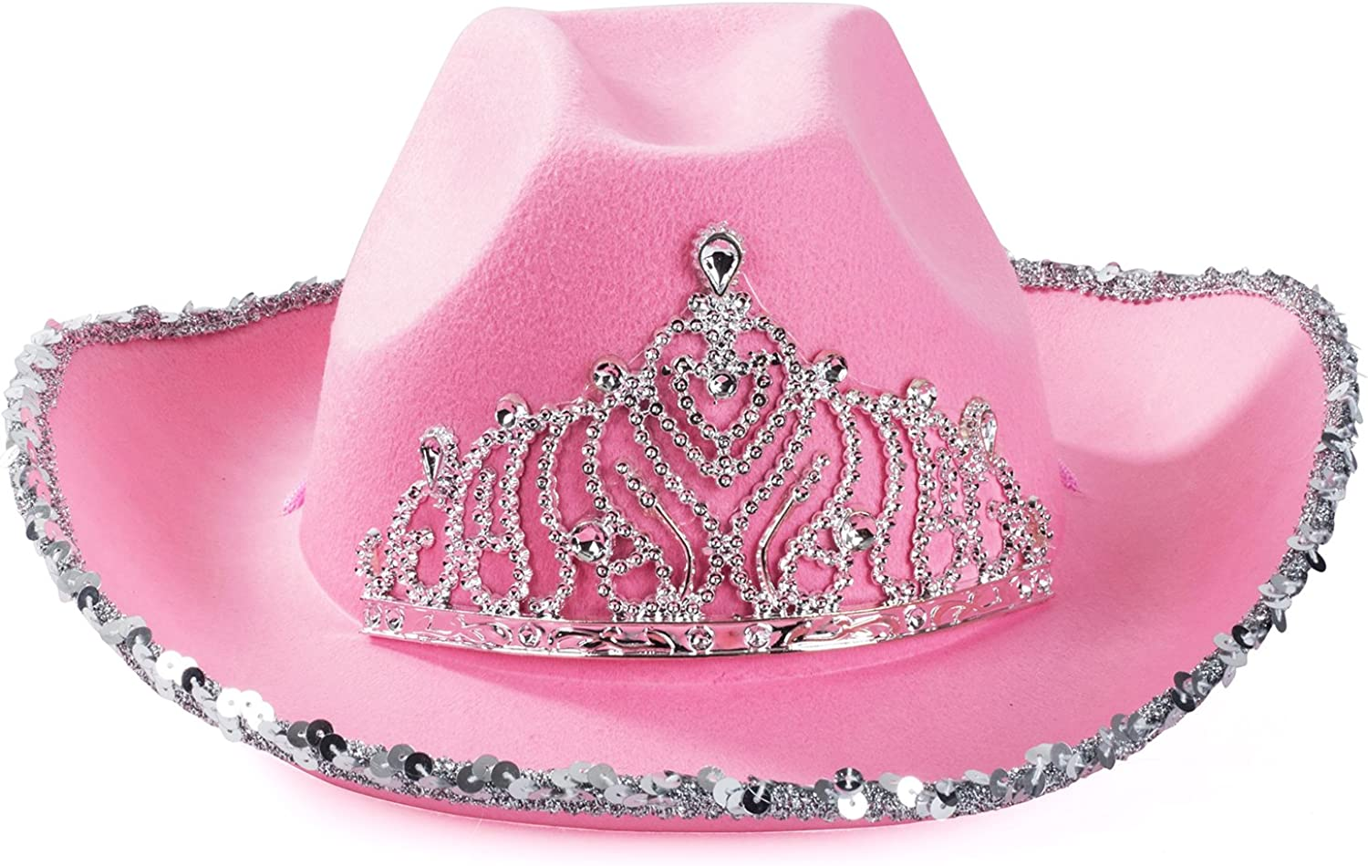 Funny Party Hats Cowgirl Hat - Princess Cowboy Hats for Women: Toys & Games