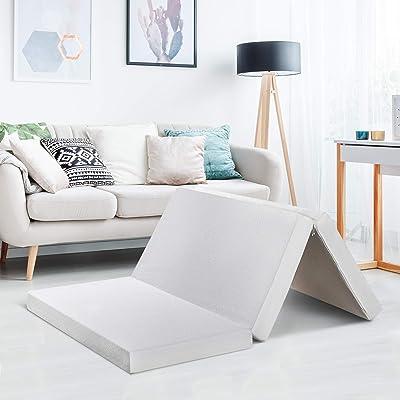 """Best price mattress 4"""" Trifold Mattress Topper"""