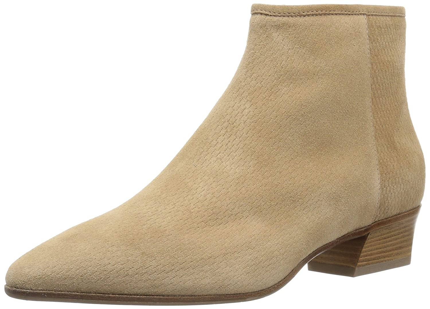 Aquatalia Women's Fire Perforated Suede Ankle Boot B0721QTJ12 10.5 B(M) US|Sand