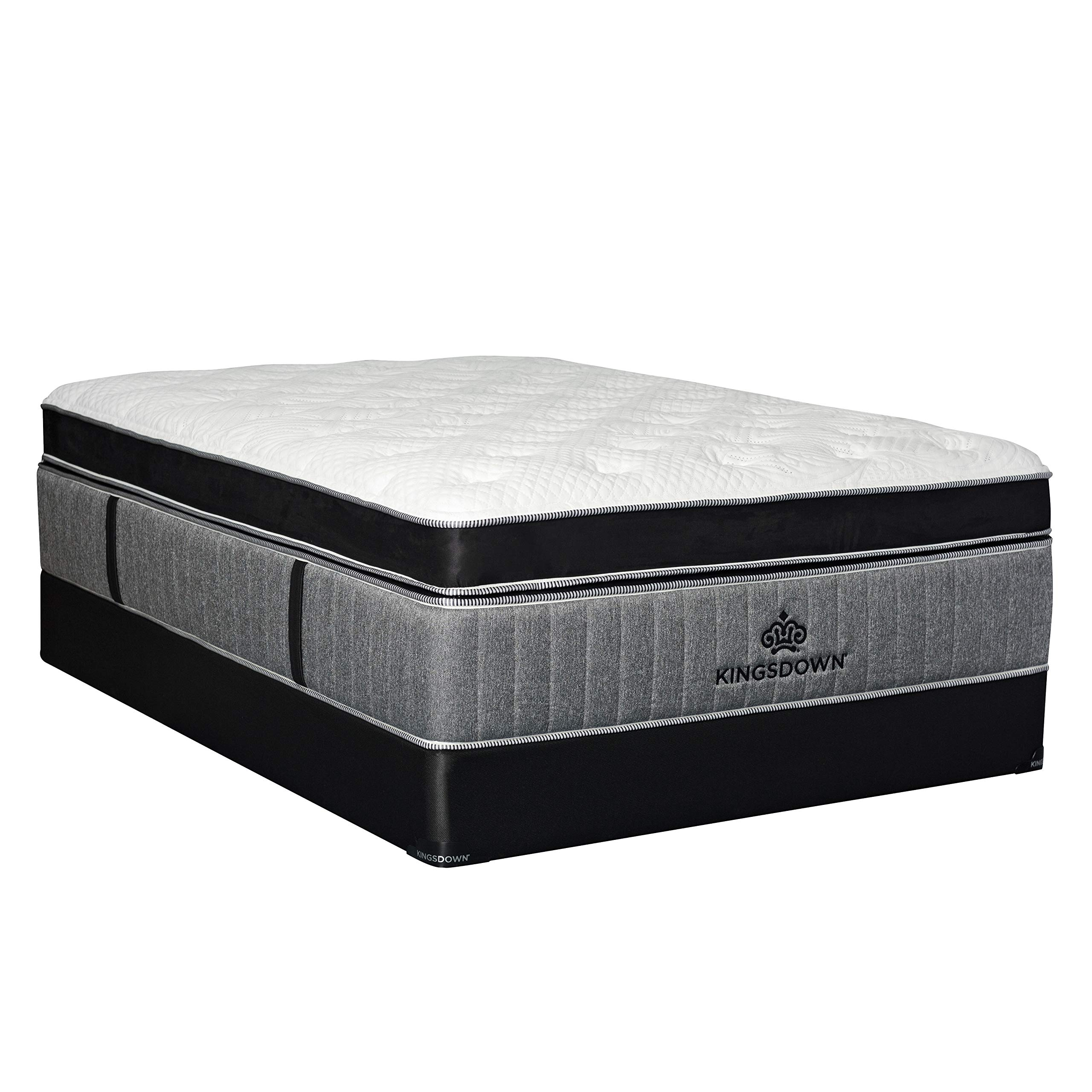 Kingsdown Passions Dynamo 17.5-inch Pillow Top Mattress Set Regular Profile Queen by Kingsdown