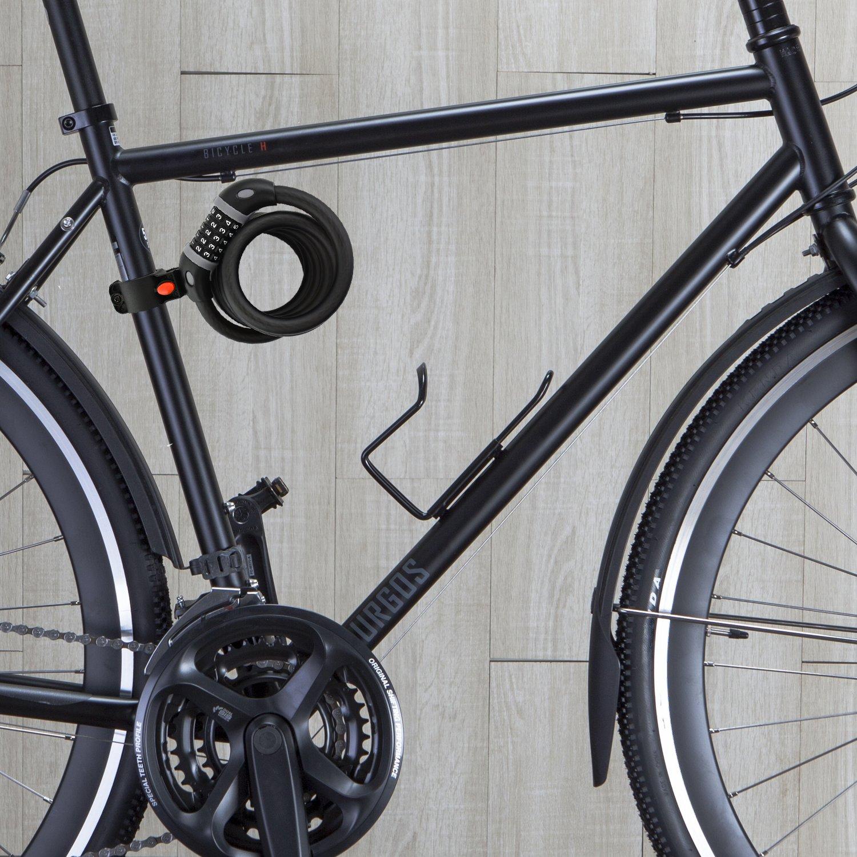 Zahlen-Code-Kombination-Schloss Softtouchoberfl/äche Halterung nean Fahrrad-Zahlen-Kabel-Schloss 15 x 1800 mm,