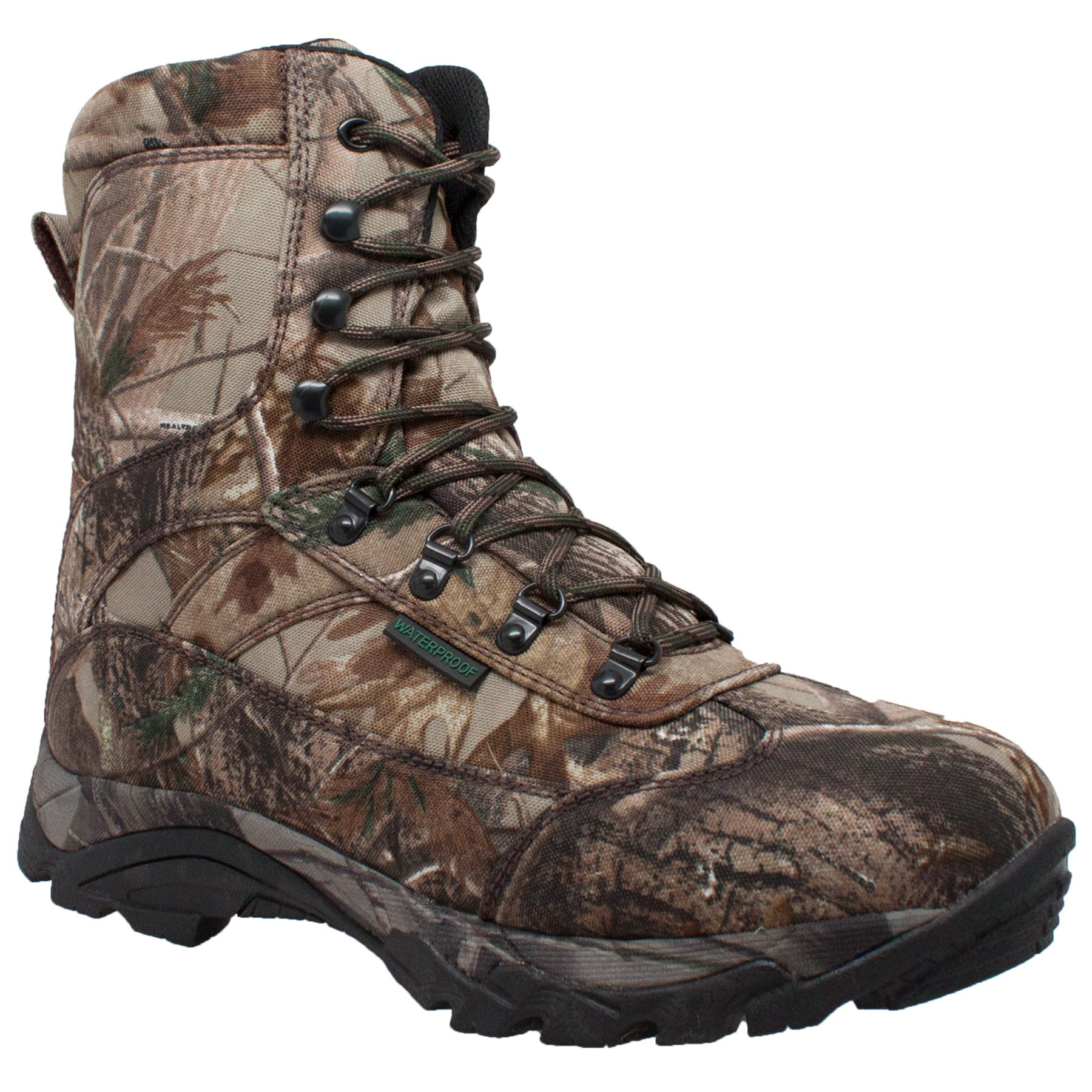 Adtec Men's 10'' Waterproof Real Tree 800g Camo Tan