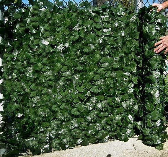 Best Artificial (TM) englische Efeu-Schutzwand, 3 m x 1 m Sichtschutz/Hecke, Landschaftsgartenzaun, mit UV geschützt, verblas
