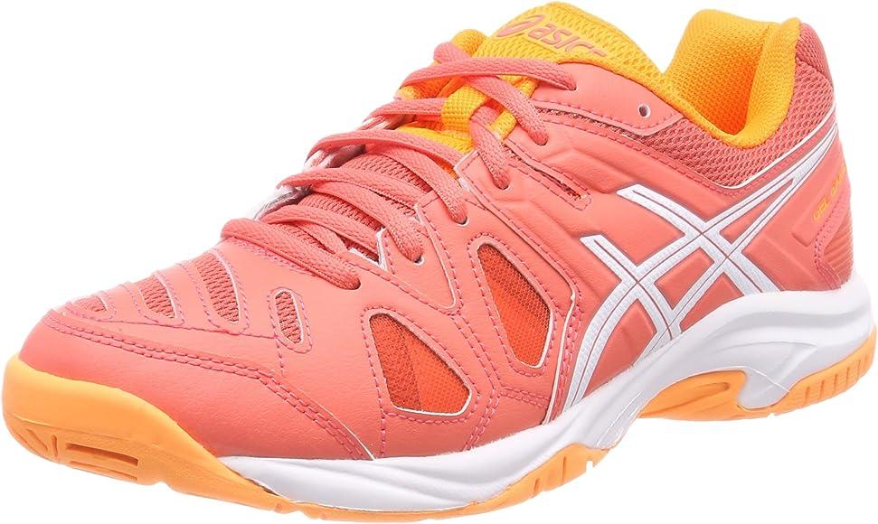 Asics Gel-Game 5 GS, Zapatillas de Tenis Unisex Niños, Naranja ...