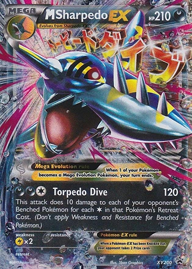 Pokémon - Sharpedo - XY200 - PROMO - Inglés - Sun & Moon 2: Guardians Rising - Jumbo: Amazon.es: Juguetes y juegos