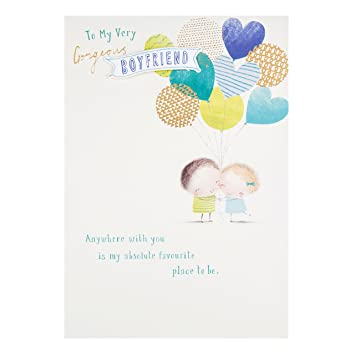 Hallmark Boyfriend Birthday Card Gorgeous
