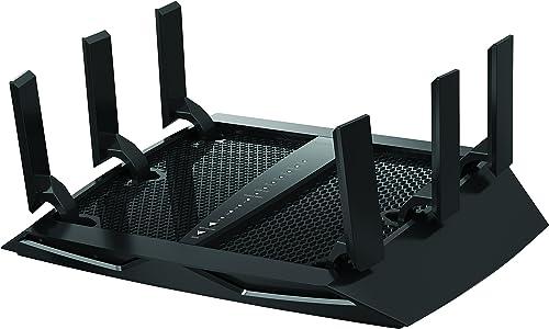 NETGEAR Nighthawk X6 AC3000 Dual Band Smart WiFi Router, Gigabit Ethernet, Compatible with Amazon Echo Alexa R7900