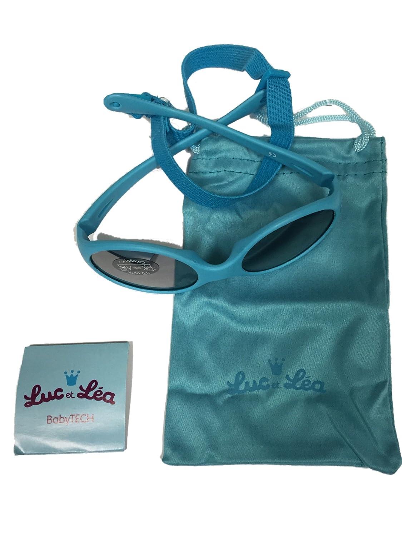 Luc und Léa–Brillen Solarzellen Kategorie 4Für Kinder von 1–3Jahren–Farbe: Blau Luc et Léa 271164