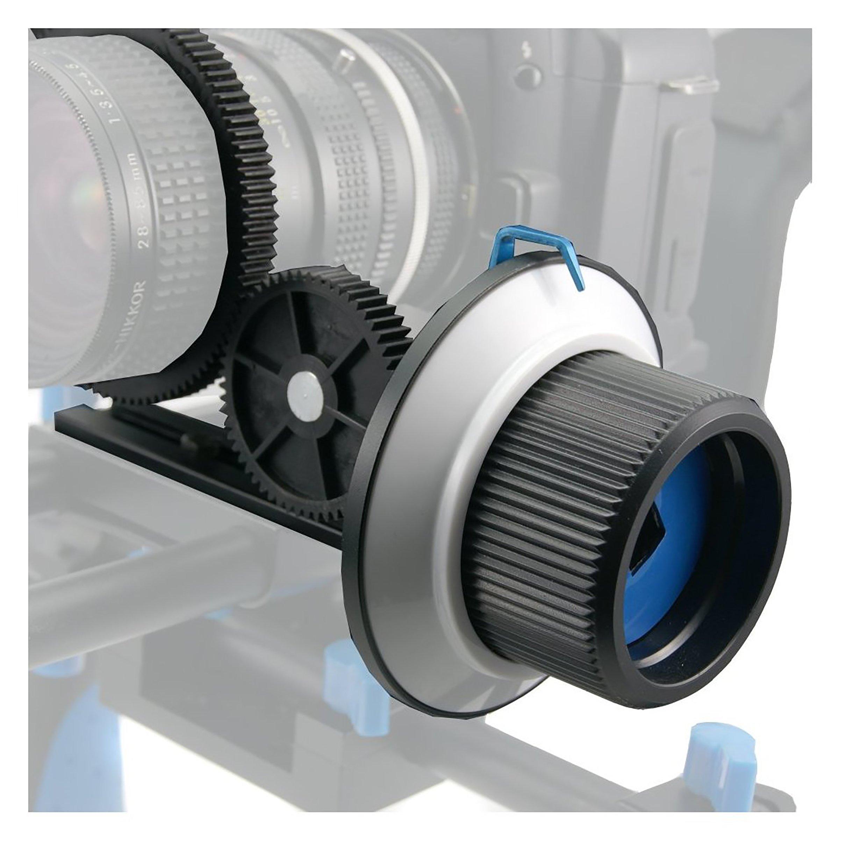 SunSmart Pro DSLR 15mm rod support system Follow Focus With Gear Ring Belt for DSLR cameras by SunSmart (Image #6)