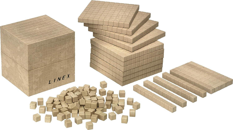 Linex de madera reciclada Base 10contar Kit