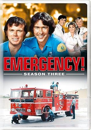 Emergency: Season Three 5 Dvd Edizione: Stati Uniti Italia ...