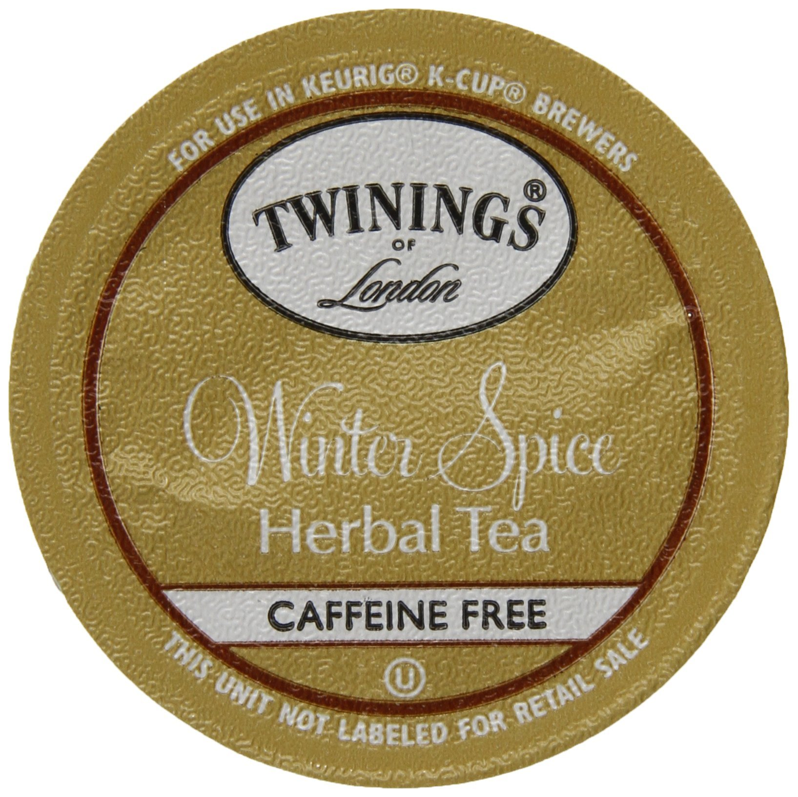 Twinings of London K-Cup Portion Pack for Keurig K-Cup Brewers Winter Spice Tea, 12 Count (Pack of 6) by Twinings