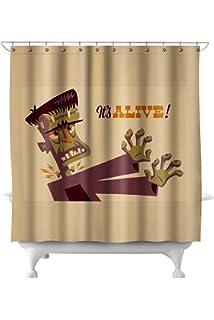 Amazon CafePress Bride Frankenstein Decorative Fabric Shower