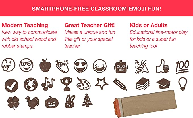 Amazon.com: Paper People timbres de emoticones: Office Products