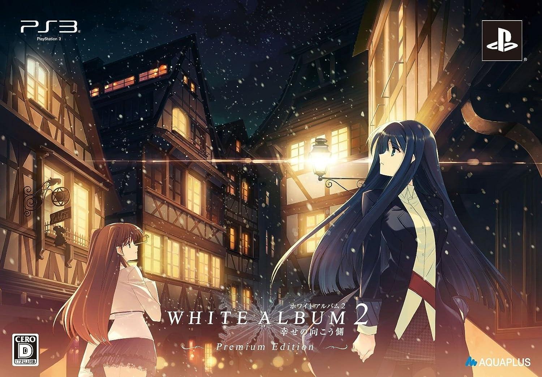 WHITE ALBUM2 -幸せの向こう側-プレミアムエディション予約特典なかむらたけし描き下ろし複製色紙&PS3用カスタムテーマプロダクトコード付き B009HKATK0