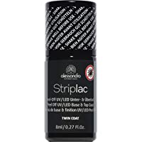 alessandro Base et Top Coat Striplac Semi-Permanent Twin Coat , (1 x 8 ml)