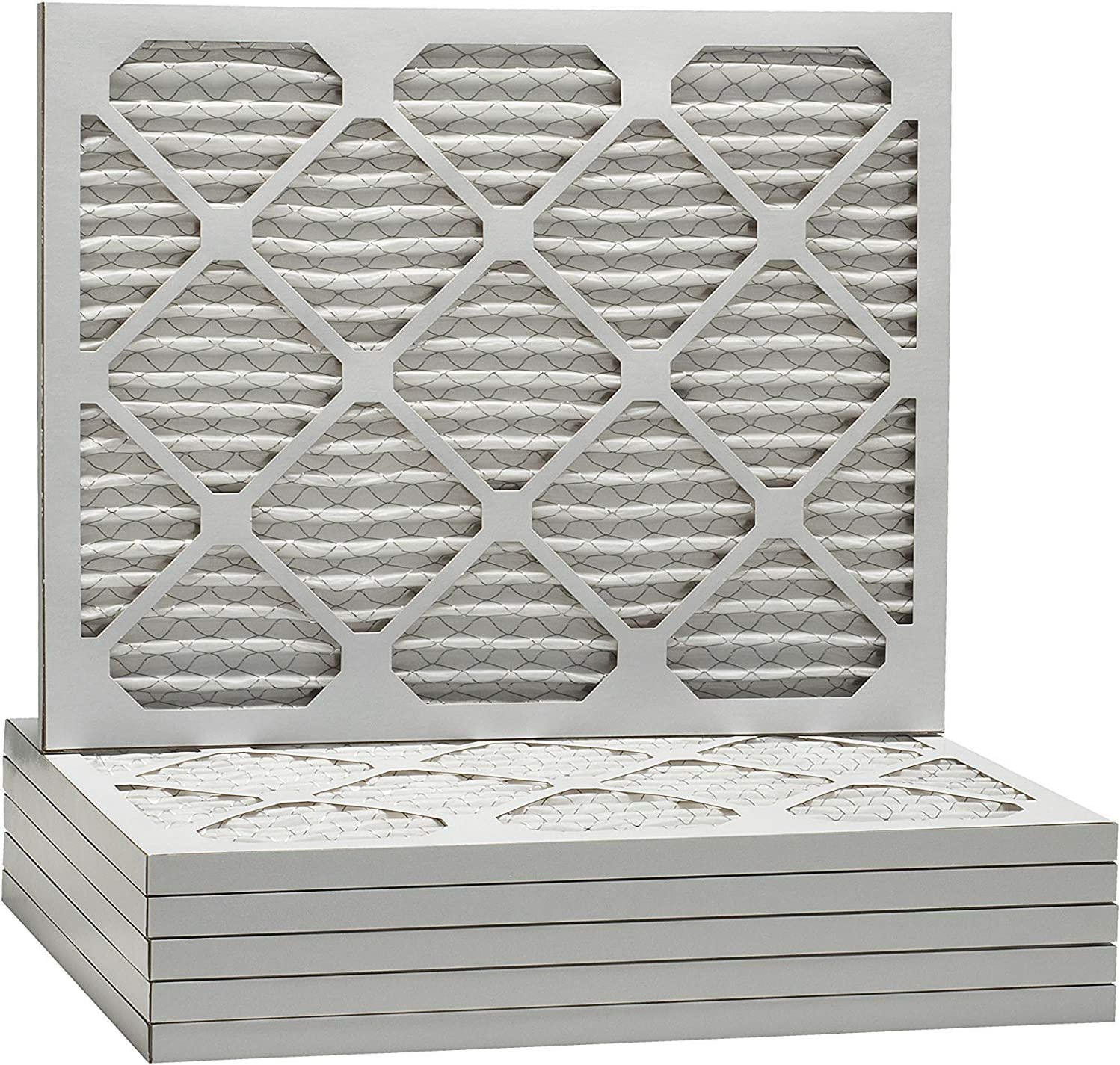 AF 20X20X1 MERV 8 Pleated AC Furnace Air Filter Pack of 4 filters 100/% produced in the USA.