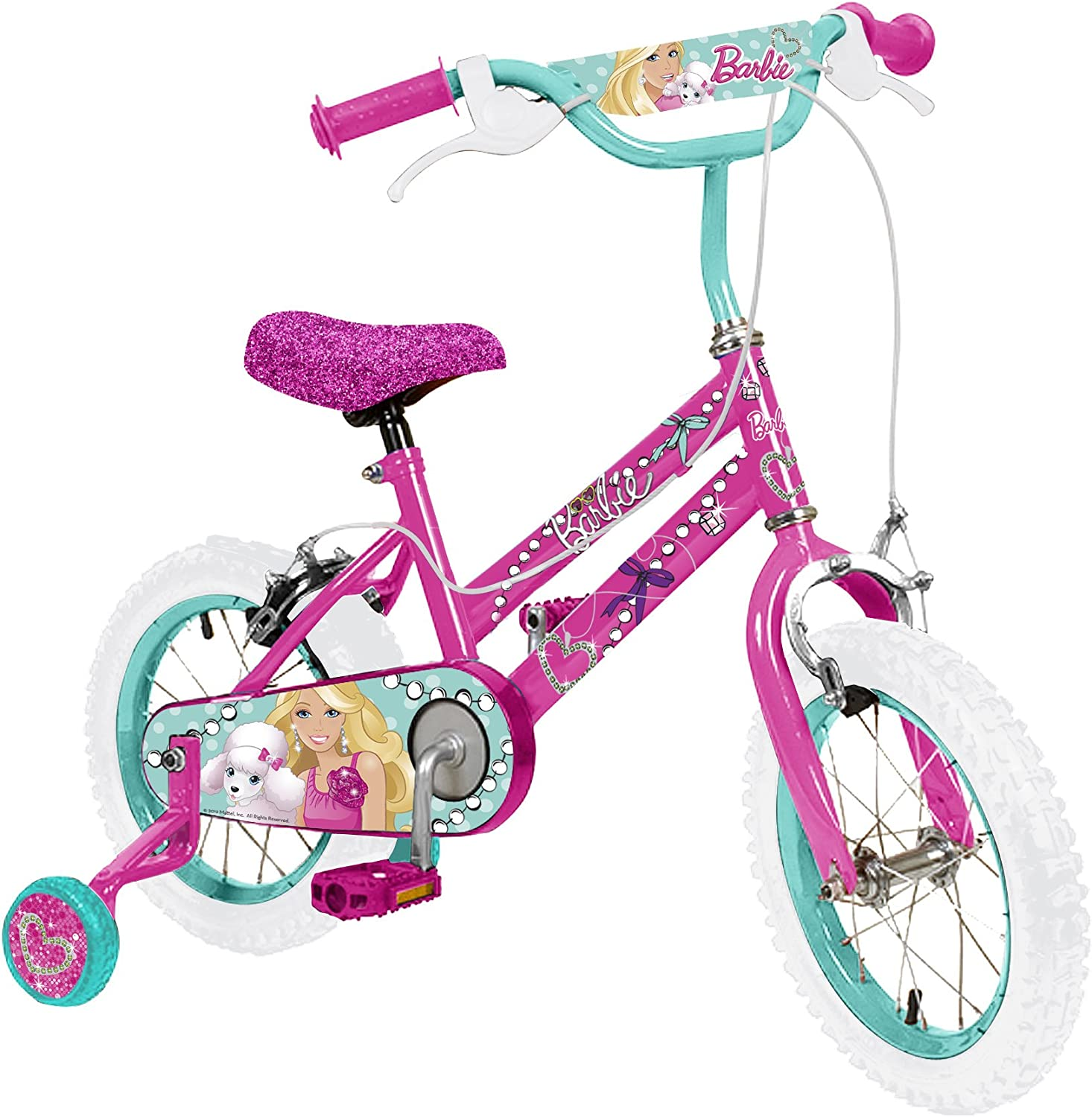 Barbie GirlS Bike - Bicicleta para niña, tamaño 16