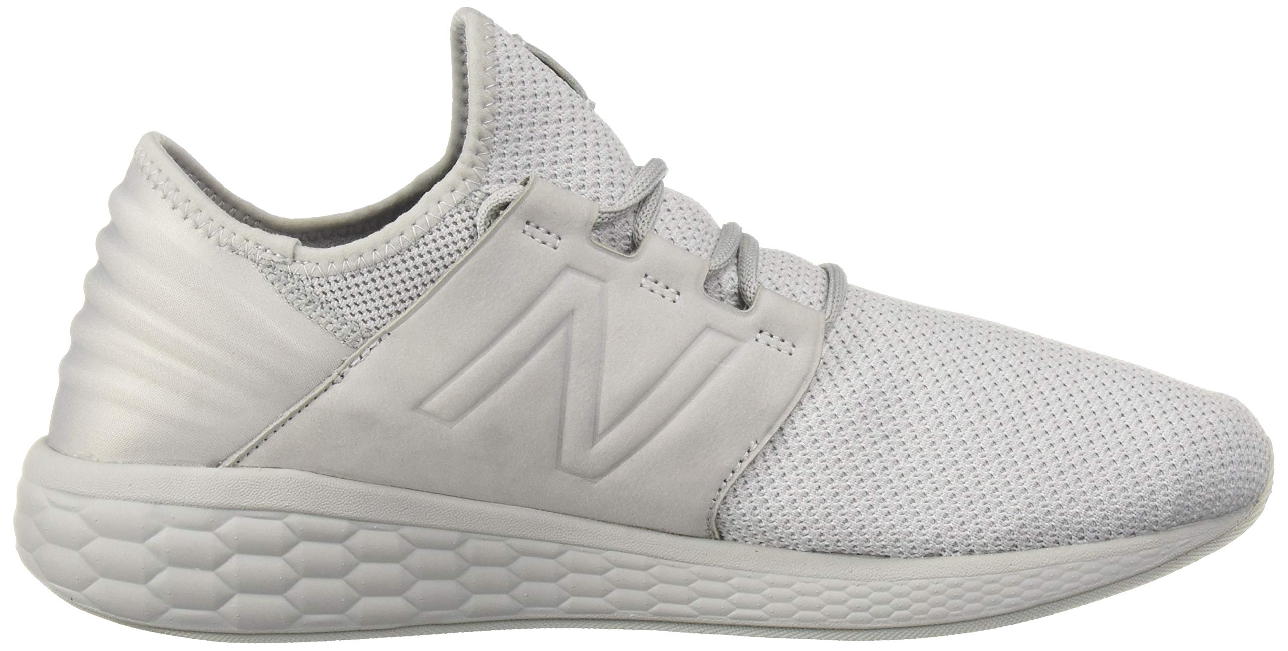New Balance Men's Cruz V2 Fresh Foam Running Shoe, arctic fox/white/nubuck, 7 D US by New Balance (Image #7)