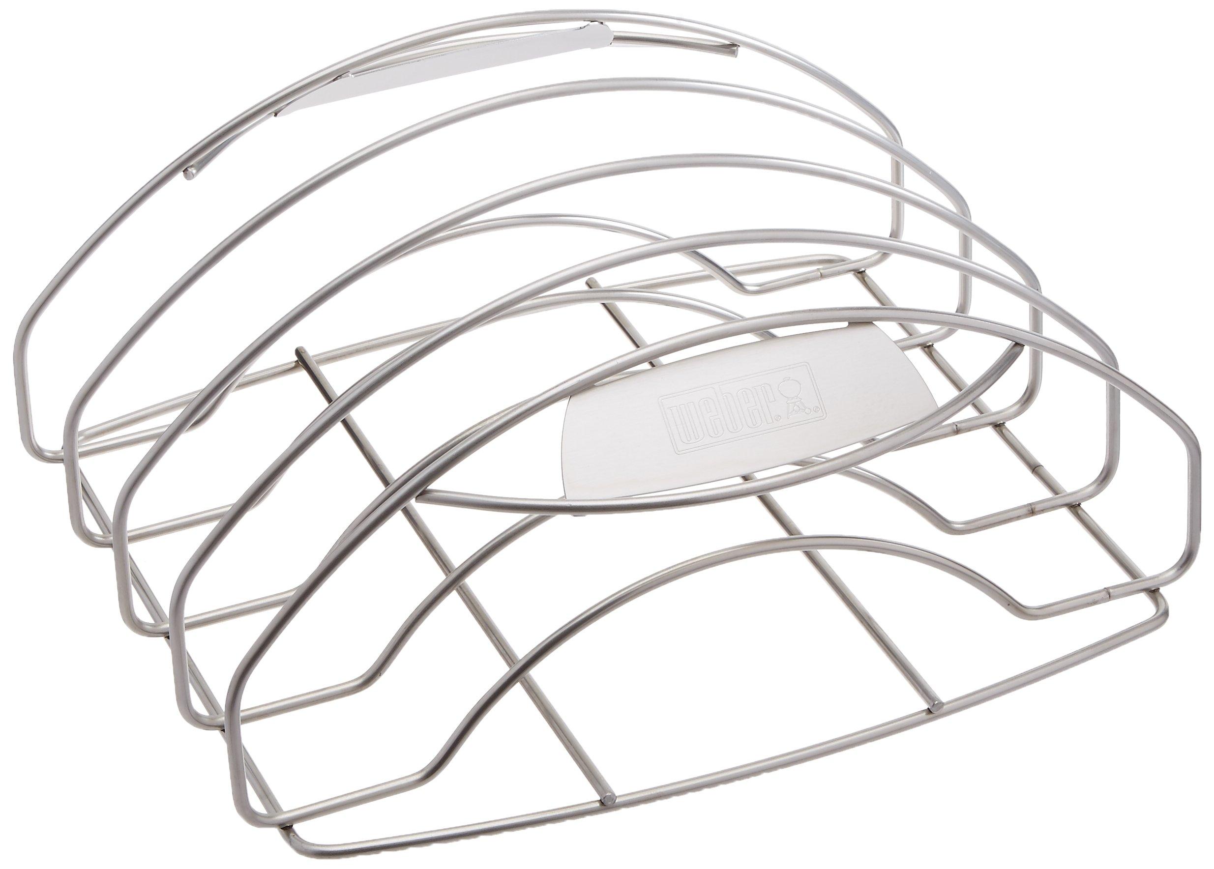 Weber 7648 Stainless Steel Rib Rack