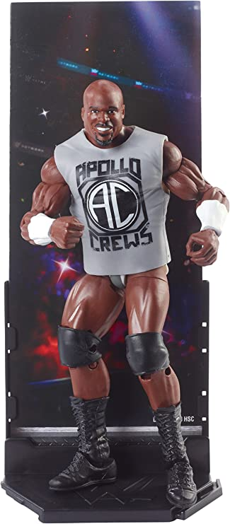 WWE Mattel Apollo Crews Basic Series 70 Figure Brand New Boxed