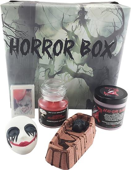 Horror Box | bombas de baño | hecho a mano jabón vela | Peeling Corporal |