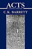Acts of the Apostles: A Shorter Commentary (International Critical Commentary)