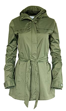 COLUMBIA WOMENS Shine Struck RAIN JACKET OLIVE at Amazon Women&39s