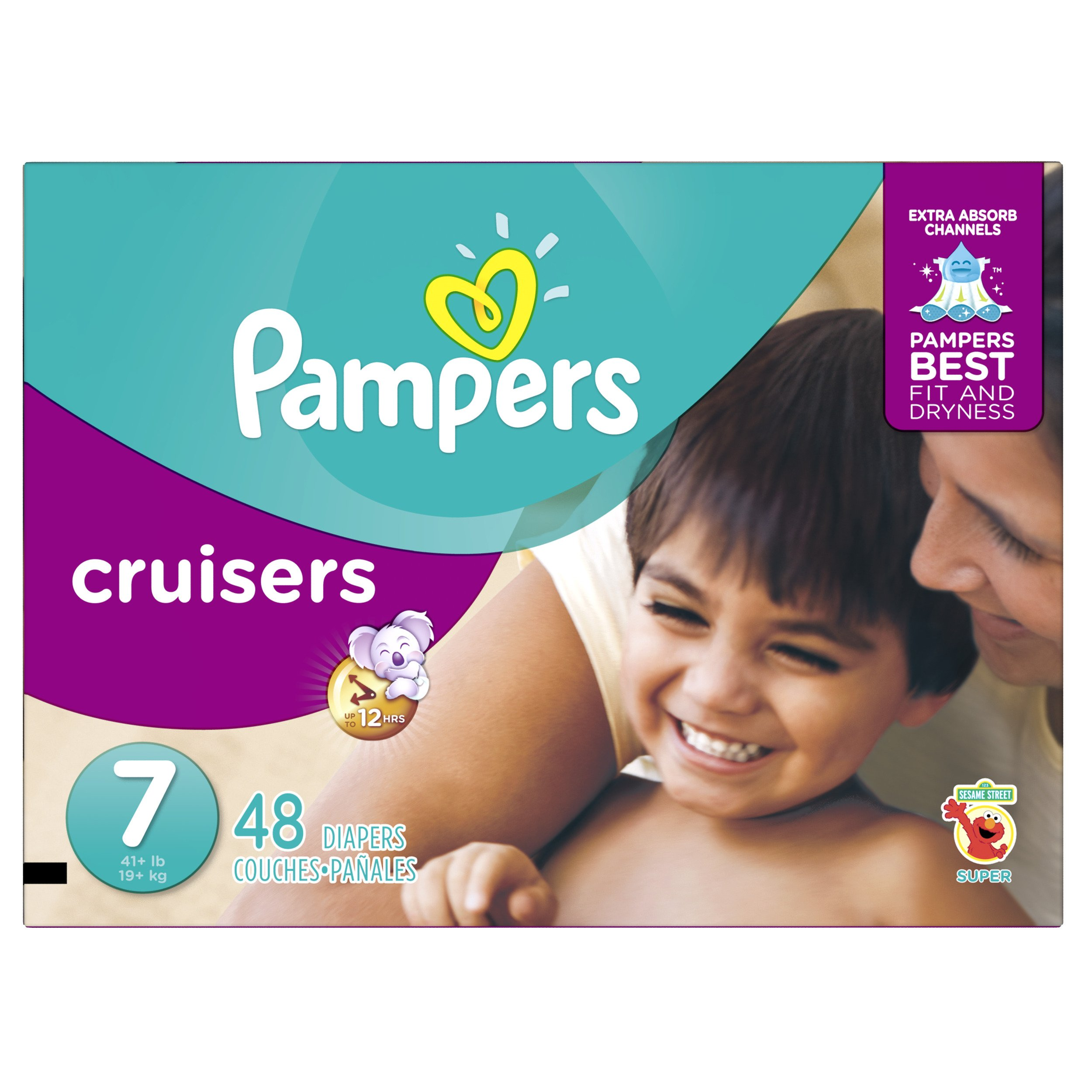 Amazon pampers cruisers disposable diapers size 7 92 count pampers cruisers disposable diapers size 7 48 count super nvjuhfo Image collections