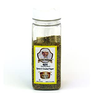 Chef Paul Prudhommes Lemon and Cracked Pepper 7.75 oz