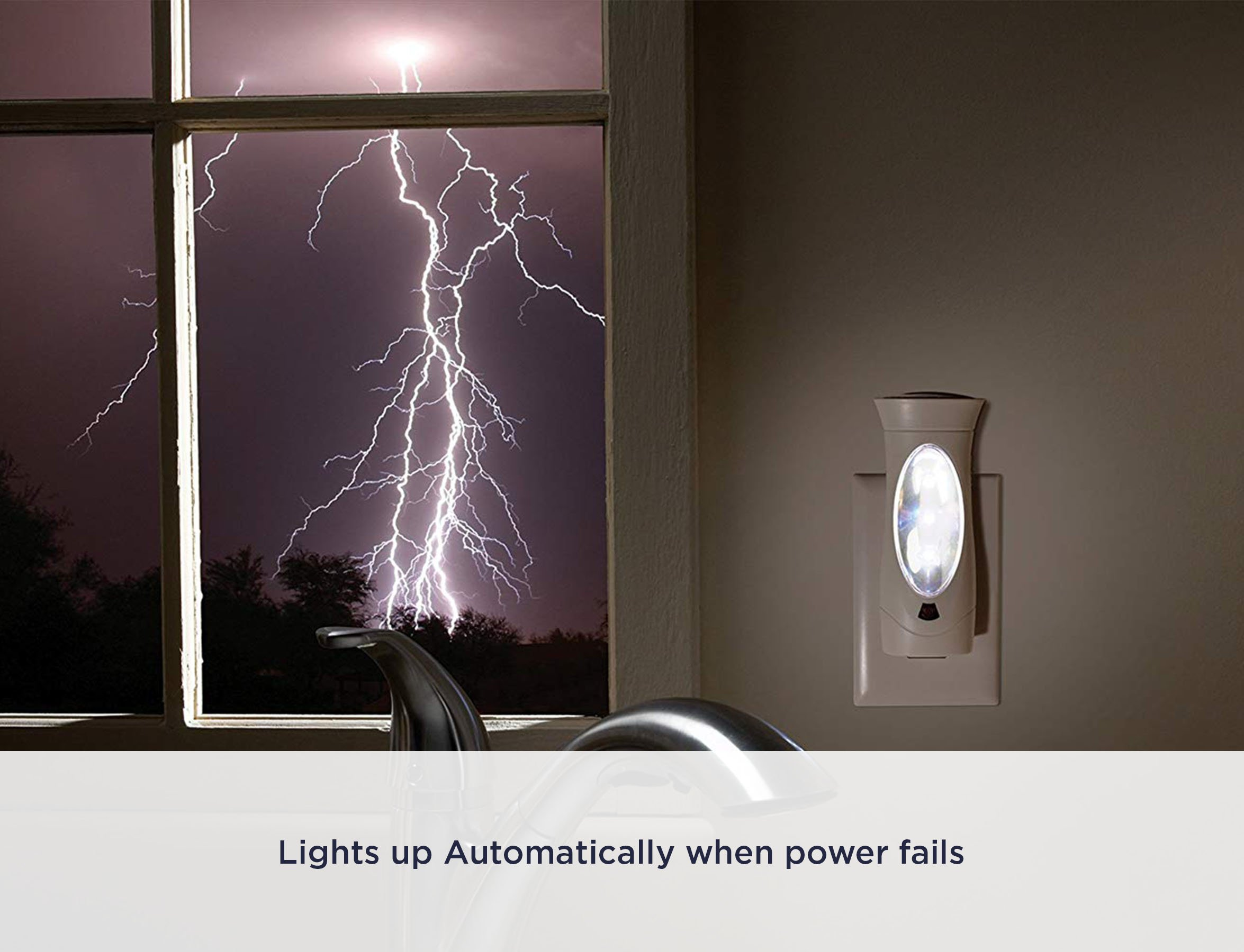 Amerelle Emergency Lights For Home By Amertac 1 Pack