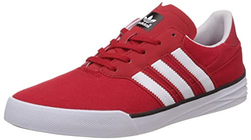 Buy adidas Originals Men's Triad Red and White Leather ...