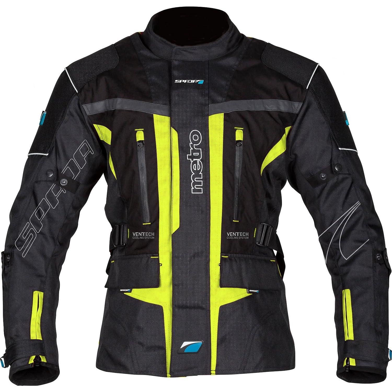 Spada Textile Jacket Metro WP Black//Fluo