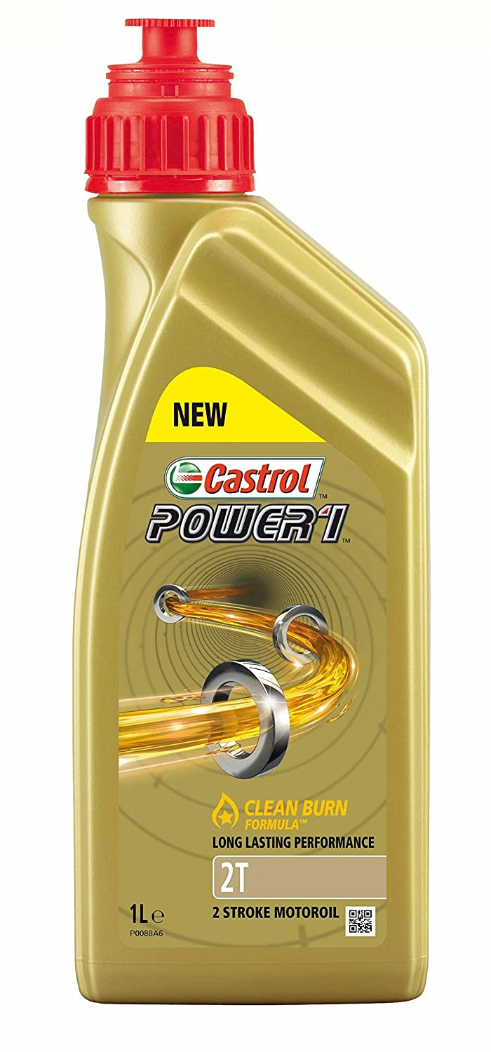 Castrol 154F7C Power 1 2T Engine Oil, 1 Liter Castrol Limited