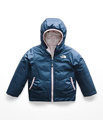 169daf8f502e The North Face Toddler Girl s Reversible Perrito Jacket - Blue Wing Teal -  2T