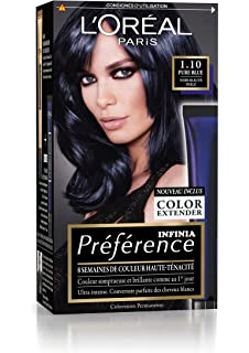 prfrence loral paris coloration permanente 110 noir bleut perl - Coloration Noir Bleut