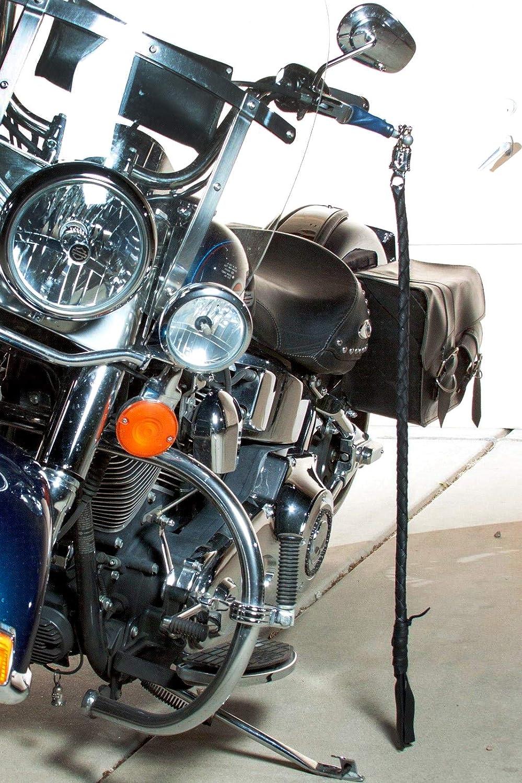 Harley Davidson Biker Whip for Motorcycles Celcube Black Get Back Whip
