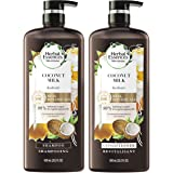 Herbal Essences, Shampoo and Conditioner Kit with Natural Source Ingredients, Color Safe, Bio Renew Coconut Milk, 20.2 fl oz,