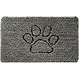 Gorilla Grip Original Indoor Durable Chenille Doormat, 30x20, Absorbent Machine Wash Inside Mats, Low-Profile Rug Doormats fo