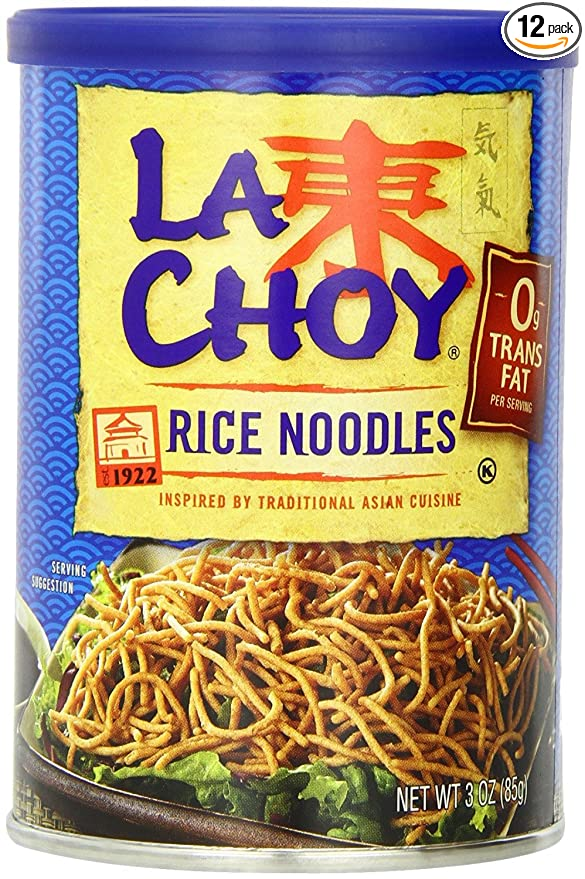Amazon Com La Choy Asian Style Crunchy Noodles 3 Ounce 12 Pack Grocery Gourmet Food