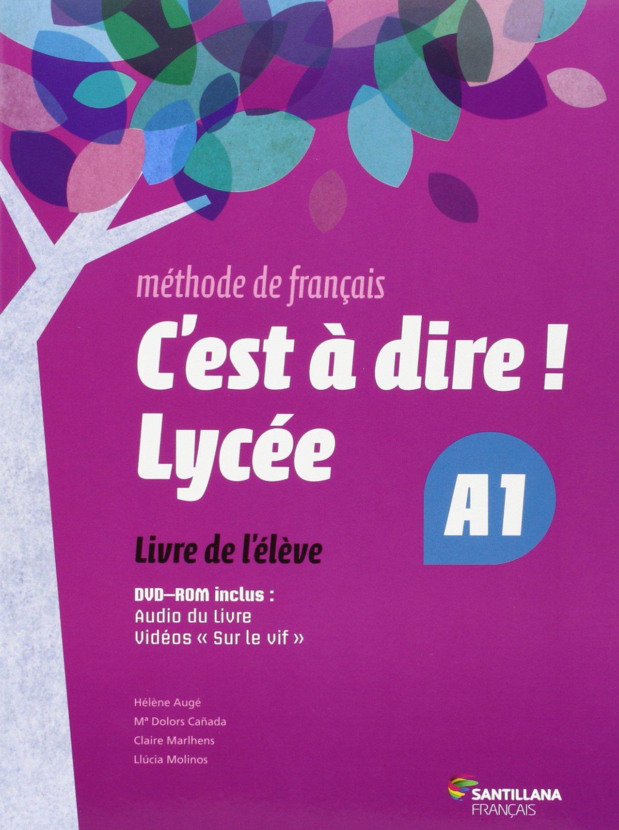 CEST A DIRE LYCEE A1 ELEVE + DVD - 9788492729623: Amazon.es: Aa.Vv.: Libros en idiomas extranjeros