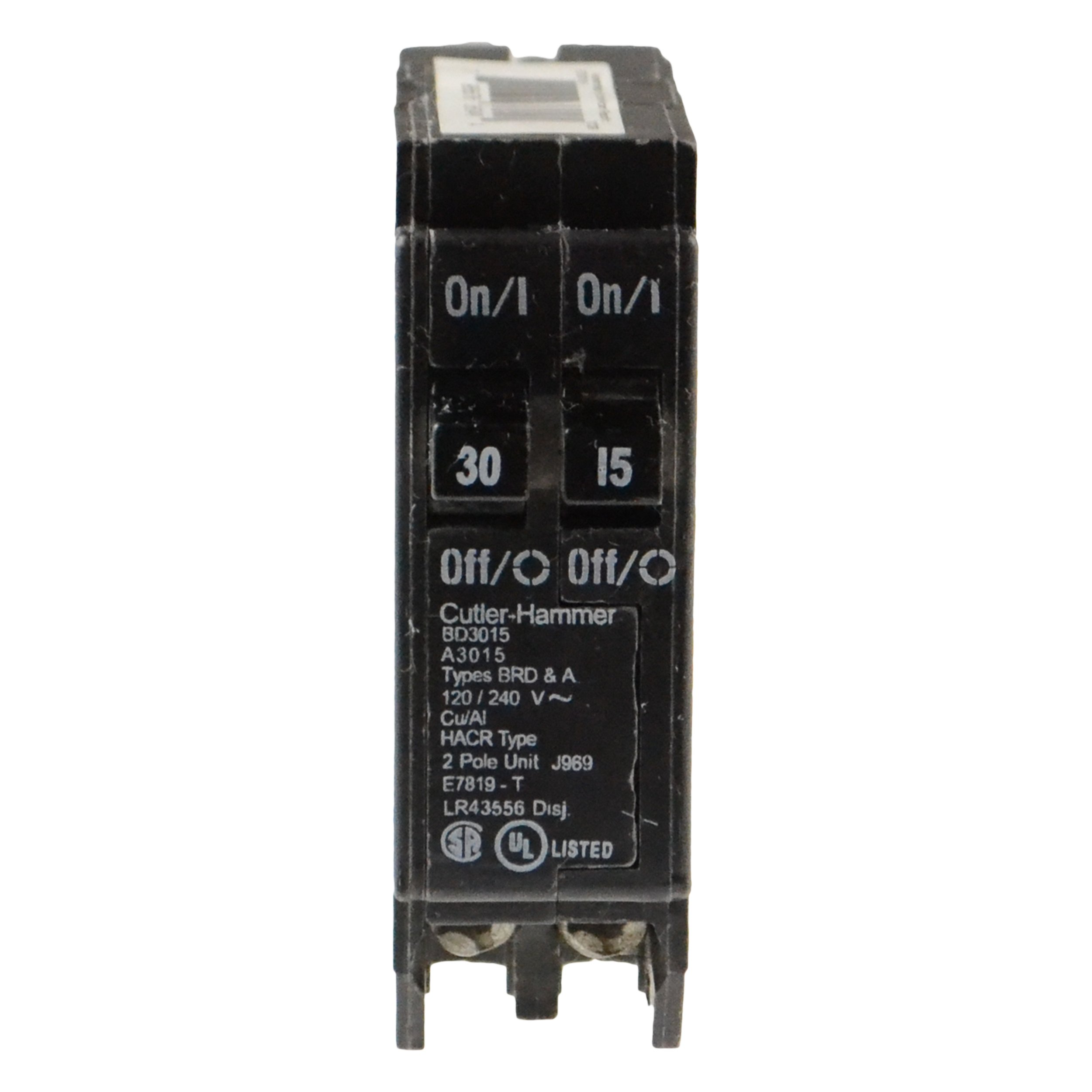 Wesco Distribution BD3015 Circuit Breaker by Cutler