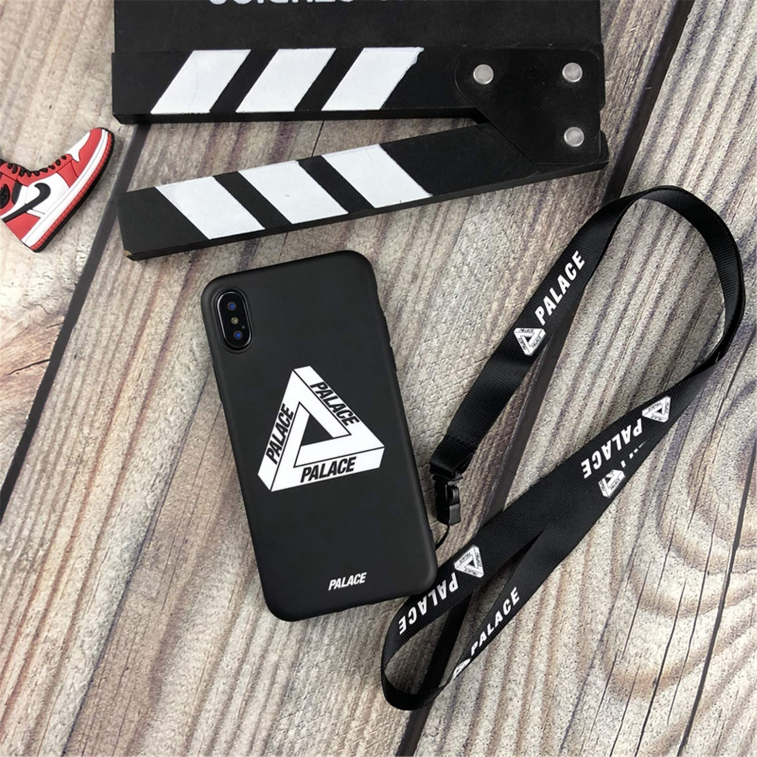 Amazon.com: Tide Palace Strap Off Soft Silicon Phone Case for iPhone Lanyard Capa Black for iPhone 7 8 Case & Strap: Cell Phones & Accessories